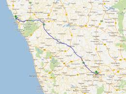 Goa Map Bangalore To Goa Road Trip U2013 Reading Books U0026 More