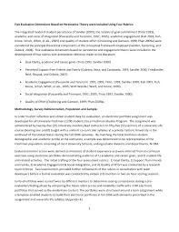 First Year University Student Resume Sample aera 2010 first year student adjustment success and retention s u2026