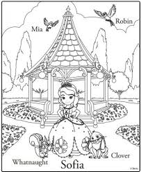 printable sofia coloring pages 46801