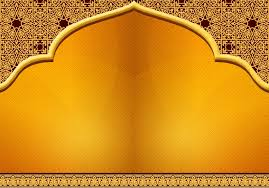orange design islamic background wallpaper hd wallpapers