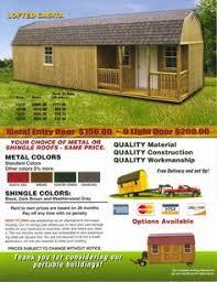 J J Bargain Barn Deluxe Barn Loft Cabin Deluxe Lofted Barn Cabin My Hideaway