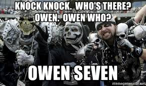 Raiders Fans Memes - knock knock who s there owen owen who owen seven oakland