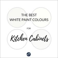 best sherwin williams paint color kitchen cabinets the 4 best white paint colours for cabinets benjamin