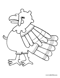 turkey coloring pages hellokids