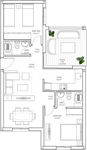 20 Square Metres 70 Square Meter House Plans House Plans