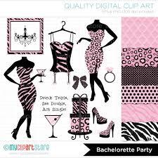 vintage cocktail party clipart bachelorette party clipart 60