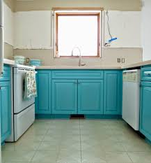 kitchen progress turquoise cabinets check dans le lakehouse