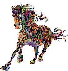 pferd wandabziehbilder möbelideen