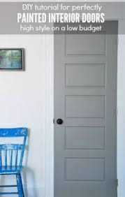 white interior doors with glass consider different colors for each side of your door to make an