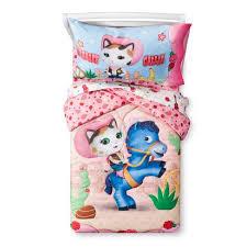 sheriff callie bedding sheriff callie s wild west pink bedding set toddler 4pc target