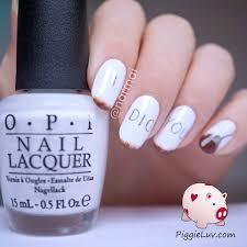 piggieluv valentine u0027s day nail art i dig you