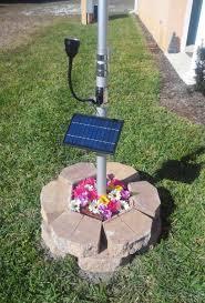 solar led flagpole light commercial solar flagpole light ultra series cree flexible head