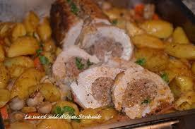 cuisiner un roti de veau rôti de veau farci au four le sucré salé d oum souhaib