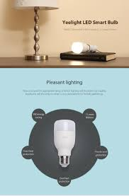 Led Bedside Lamp Xiaomi Yeelight E27 Smart Led Bulb 4000k Dimmable Bedside Lamp