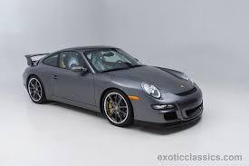 porsche gt3 gray 2007 porsche 911 gt3 exotic and classic car dealership