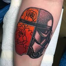 23 best rose and star tattoo men images on pinterest star