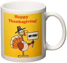 thanksgiving coffee mugs