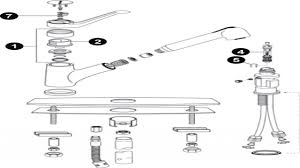 moen kitchen faucet assembly elizahittman com moen kitchen faucet diagram parts diagram for