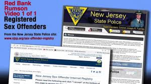 registered offenders red bank and rumson