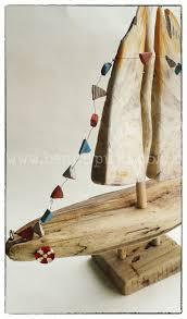 36 best sculpture driftwood boats crochet sail boats jaybrd art