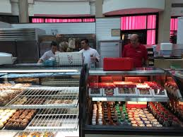 big crowd waits for hours to meet cake boss at kiosk bakery