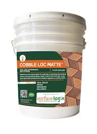 Sealer For Stone Patio by Cobble Loc Clear Sealer Surfacelogix