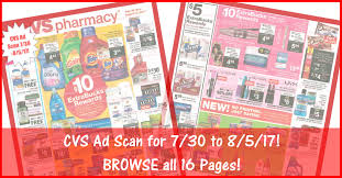cvs black friday 2017 cvs ad scan for 7 30 to 8 5 17 browse all 16 pages