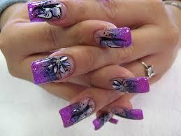 nail 65 cool purple nail design ideas purple nail design