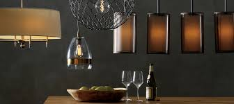 dining room industrial chandelier by crate and barrel lighting