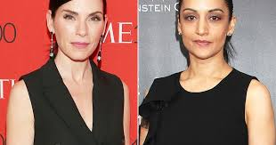does julianna margulies hate archie julianna margulies archie panjabi s good wife feud twitter reactions