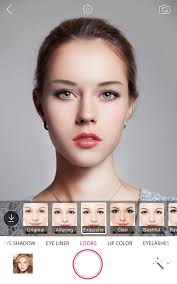 hair and makeup app youcam makeup selfie magic makeover android apps on