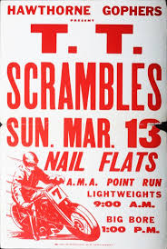 35 best vintage motorbike race posters images on pinterest