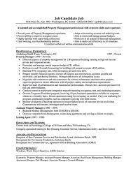 Production Manager Resume Sample Assistant Property Manager Resume Template Thehawaiianportal Com