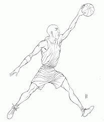 kobe bryant coloring pages michael jordan dunking coloring pages high quality coloring