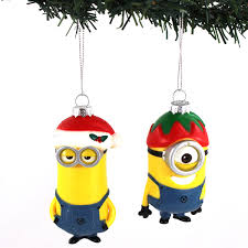 despicable me minions kurt adler ornament gift boxed