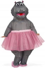 inflatable hippo costume muck up day pinterest funny