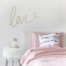 ps i love you wall stickers quotes vinyl decal couple bedroom