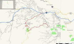 Colorado State Park Map by Colorado State Highway 103 Wikipedia