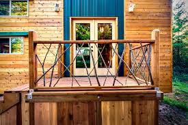 Tiny House Deck by Basecamp Tiny House Hiconsumption
