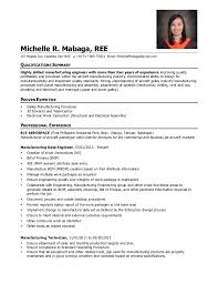 Manufacturing Engineer Resume Sample by Michelle R Mabaga S Resume Manufacturing Data Engineer