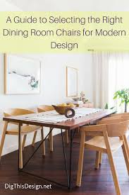 Modern Dining Furniture Modern Dining Chairs That Will Impress Your Guests Dig This Design