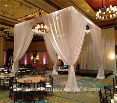 chuppah canopy pk organza canopy chuppah wedding decoration fabric drape