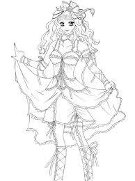 coloring princesses manga princess 9