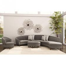 Safavieh Furniture Outlet Store Furniture Feature Round Sectional Sofa In Gray By Safavieh