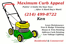 Mowing Business Cards Maximum Curb Appeal