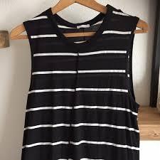 76 off zara dresses u0026 skirts zara black and white striped maxi