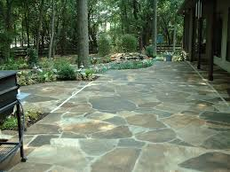 Patio Flagstone Designs Decorative Flagstone Patio All Home Design Ideas