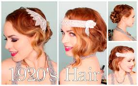 how to do 20s hairstyles for long hair 1920 s faux bob and updo tutorial youtube