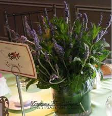 Potted Plants Wedding Centerpieces by Herbs Wedding Centerpieces Pictures Lavender Pots Wrapped In