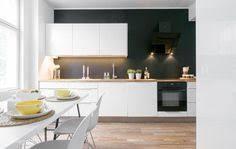cuisine mur noir cuisine blanche et maison design sibfa com